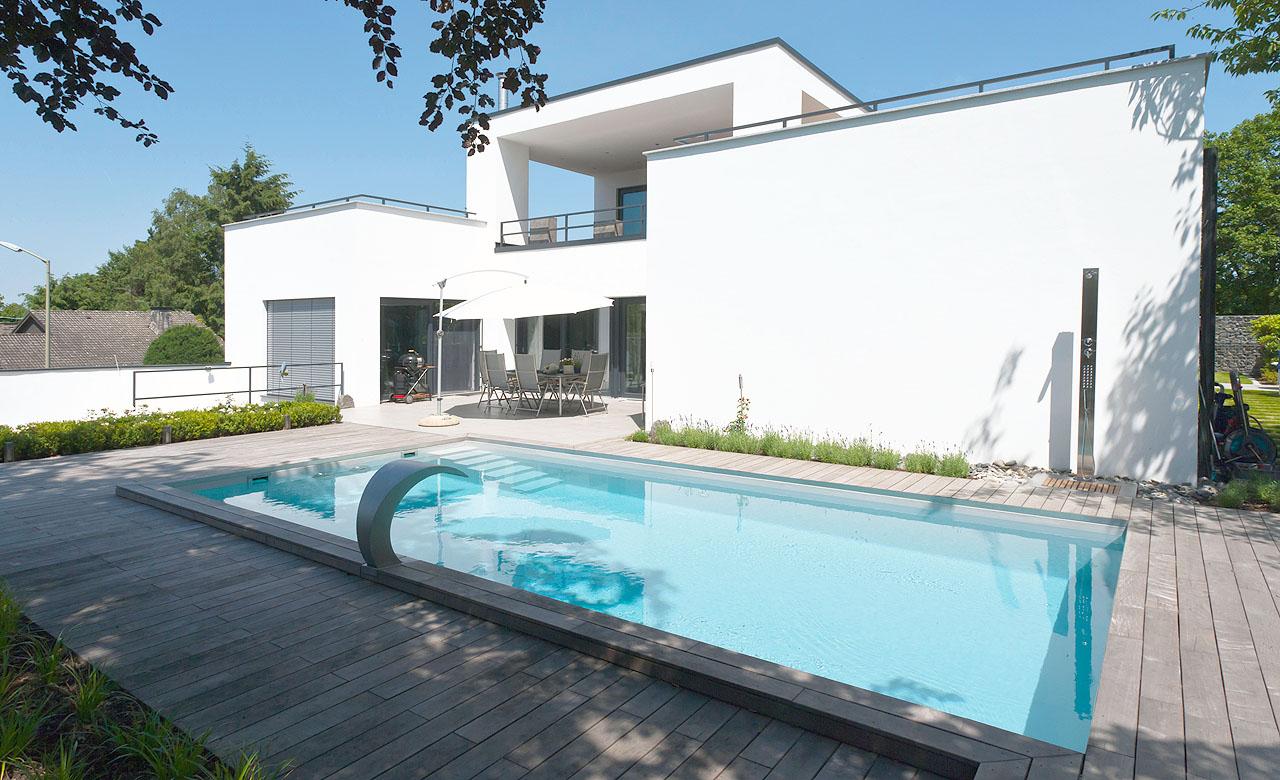 Skimmer-Pools Schwimmbecken aus Polypropylen