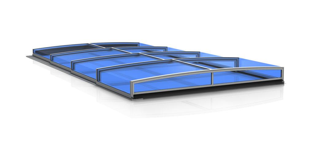 Poolabdeckung elegant1-ultraflat-bresco