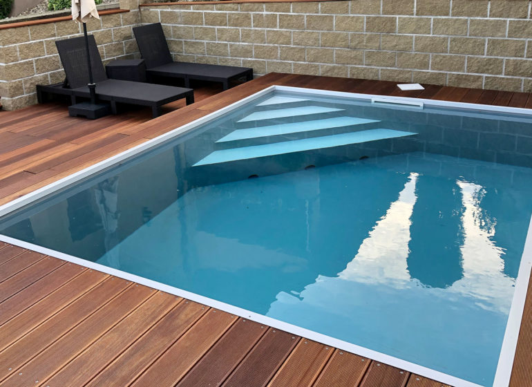 Skimmer Pool Schwimmbecken Bresco