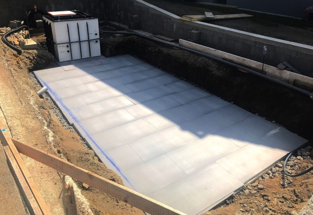 xps polystyrol pool betonplatte bresco