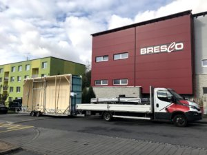 Bresco Schwimmbecken Transport Poolhersteller